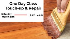 Wood Touch-up & Repair class
