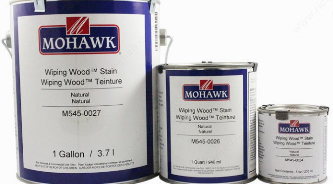 wiping wood stain m545-2097