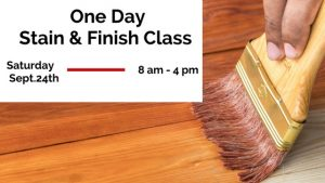 Wood Stain & Finish class