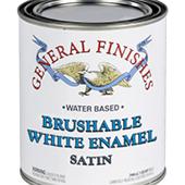 BRUSHABLE WHITE ENAMEL - GALLON