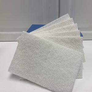 """6x9"""" White Hand Pads"""